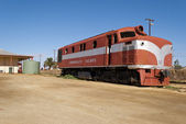 Abandoned train in Marree, South Australia — Stock Photo