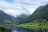 Norway, beautiful mountain landscape — Stock Photo