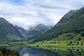 Norway, beautiful mountain landscape — Stock Photo