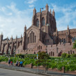 Christ Church Cathedral, Newcastle, Australia - Stock Photo