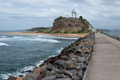 Newcastle lighthouse, Australia — Stock Photo