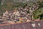 Saorge village, France — Stock Photo
