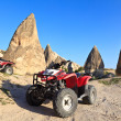 Quad bikes in Cappadocia, Turkey — Stock Photo
