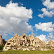 Fairy chimneys in Cappadocia, Turkey — Stock Photo