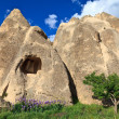 Stock Photo: Fairy chimneys in Cappadocia, Turkey