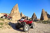 Quads in cappadocië, turkije — Stockfoto