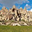 Fairy chimneys in Cappadocia, Turkey — Stock Photo #11282346