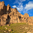 Fairy chimneys in Cappadocia, Turkey — Stock Photo #11443200
