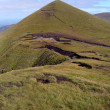 View of Galtee Beag, Galtee mountains, Ireland - Stock Photo