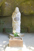 Statue of god Hotei — Stock Photo