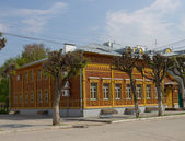 Academician I.P.Pavlov Memorial Museum, administration building. — Stock Photo
