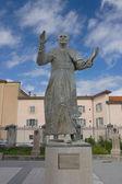 Statue of Pope John Paul II, Lyon, France — Stock Photo