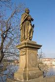 Heykel aziz yahuda thaddeus, prague, çek cumhuriyeti — Stok fotoğraf