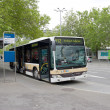 Public transport   bus - Stock Photo