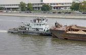 Remorqueur rechnoy-21 sur la moskova — Photo