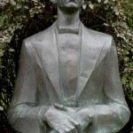 Sculpture of American pianist Van Cliburn — Stock Photo #13067317