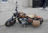 Honda Steed motorcycle — Stock Photo