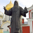 图库照片: Monument for Saint Alexius, Metropolitof of Kiev and Russia