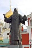 памятник святой алексий, митрополит киевский и россии — Стоковое фото