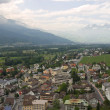View of Vaduz city, Principality of Liechtenstein — Stock Photo