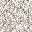 Vector illustration leaves of palm tree. Seamless pattern. — Wektor stockowy  #11416296