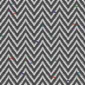 Herringbone Tweed pattern in greys repeats seamlessly. — Stock Vector