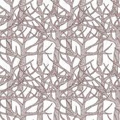 Sans soudure de motifs décoratifs avec des arbres. illustration vectorielle. — Vecteur