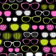 Glasses and sunglasses seamless pattern. Vector texture. — Stock Vector #11793404
