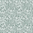 Old lace background, ornamental flowers. Vector texture. — Stockvectorbeeld