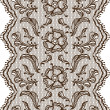 Vintage lace background, ornamental flowers. Vector texture. — Stock Vector #12140200