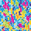 Seamless abstract pattern. Stylish geometric background. - Imagen vectorial