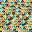 Seamless retro geometric pattern. EPS10 vector texture. — Stock Vector #12361787