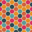 Seamless retro geometric pattern. EPS10 vector texture. — Stock Vector #12361817