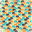 Royalty-Free Stock Vector Image: Abstract retro geometric scratched background. EPS8 texture.