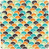 Abstrait fond rayé géométrique rétro. eps8 texture. — Vecteur