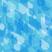 Vintage grunge oude naadloze patroon met druppels. vector textuur. — Stockvector