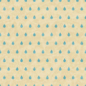 Vintage grunge old seamless pattern with drops. Vector texture. — Stock Vector