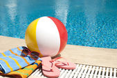 Summer vacation accessories — Stock Photo