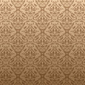 Seamless Damask wallpaper — Stock Vector