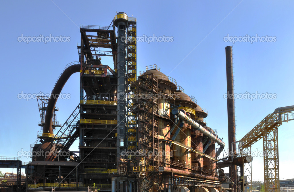 Steelworks Vitkovice in the Czech Republic — Stock Photo #10949685