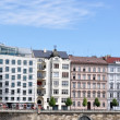 Stock Photo: Prague embankment