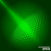Green vector background — Stock Vector