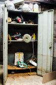 Mechanic tools cabinet — Stock Photo