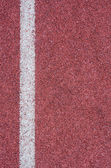 Texture of running track — Stock Photo