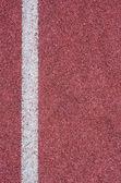 Texture of running track — Stock Photo