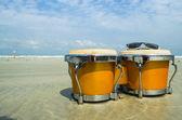 Bongo on the beach — Stock Photo