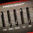 Frequency fader — Stock Photo