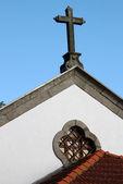португальский церковь — Стоковое фото