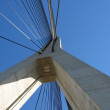 Detail of modern bridge - Foto Stock