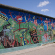 Berlin Wall - Artwork/Graffiti - Foto Stock